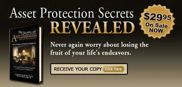 "Get the ""Secrets of AssetProtection"" Book"